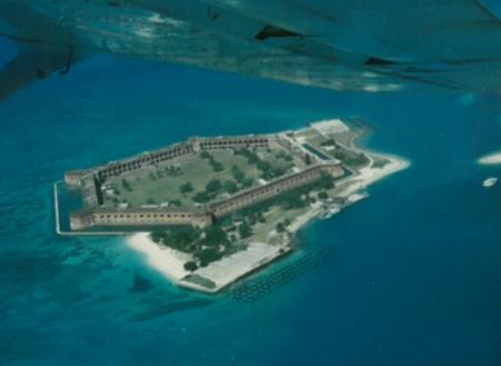 Fort Jefferson, Dry Tortugas, Florida Keys, U.S.